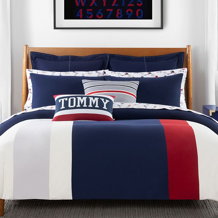 Tommy Hilfiger - The Clash of 85 Stripe Bedding Collection