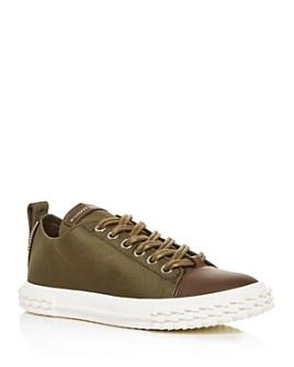 Giuseppe Zanotti - Men's Blabber Canvas Low-Top Sneakers
