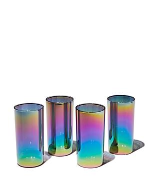MoMA Shimmerware High Glasses, Set of 4