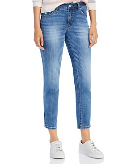 JAG Jeans - Reese Vintage Straight-Leg Jeans in Aged Indigo