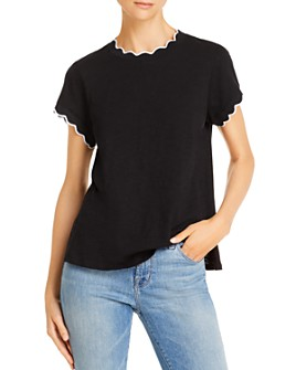 Cinq à Sept - Eve Scalloped Tee
