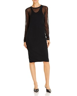 Helmut Lang - Long-Sleeve Dress