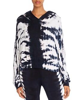 LNA - Rapture Tie-Dye Hooded Sweatshirt