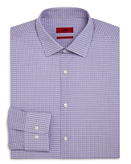 HUGO - Mabel Tattersall Regular Fit Dress Shirt