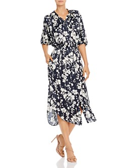 Joie - Emmalynn Floral Midi Dress