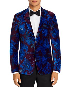 Paul Smith - Floral Velvet Extra Slim Fit Jacket