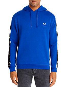 Fred Perry - Logo-Stripe Hooded Sweatshirt