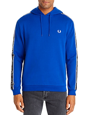Fred Perry T-shirts LOGO-STRIPE HOODED SWEATSHIRT