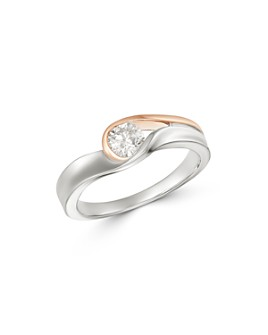 Bloomingdale's - Diamond Ring in 14K White & Rose Gold, 0.50 ct. t.w. - 100% Exclusive