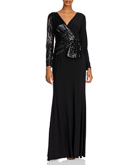 Adrianna Papell - Sequin Jersey Gown
