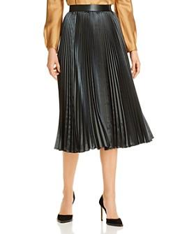 Elie Tahari - Sue Pleated Midi Skirt