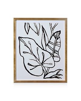 Bassett Mirror - Palm Leaves II Wall Art