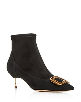 KURT GEIGER LONDON - Women's Bellevue Pointed-Toe Booties