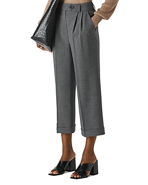 Whistles Pants CUFFED CROPPED PANTS