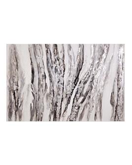 Bassett Mirror - Gray Waves Wall Art