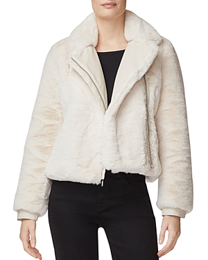 J Brand Jackets ISLEEN FAUX-FUR JACKET