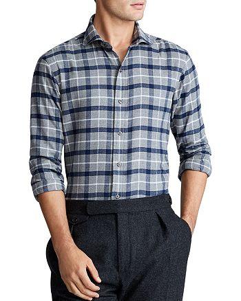 Polo Ralph Lauren - Windowpane Plaid Classic Fit Shirt