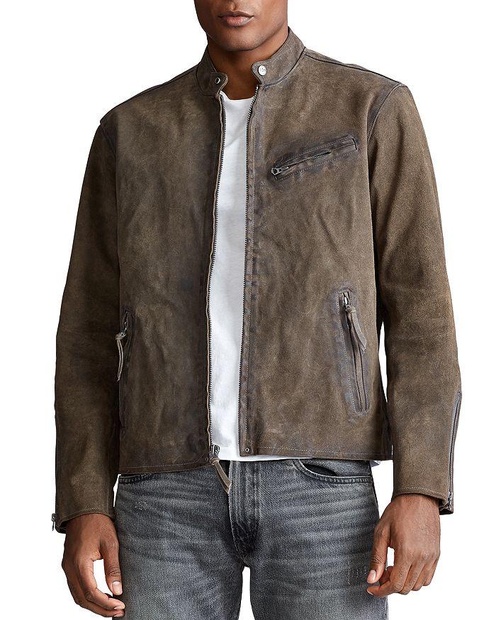 Polo Ralph Lauren - Suede Café Racer Jacket