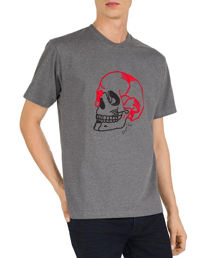 The Kooples - Embroidered Skull Crewneck Tee