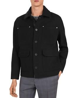 The Kooples - Ninfetta Classic Collar Jacket