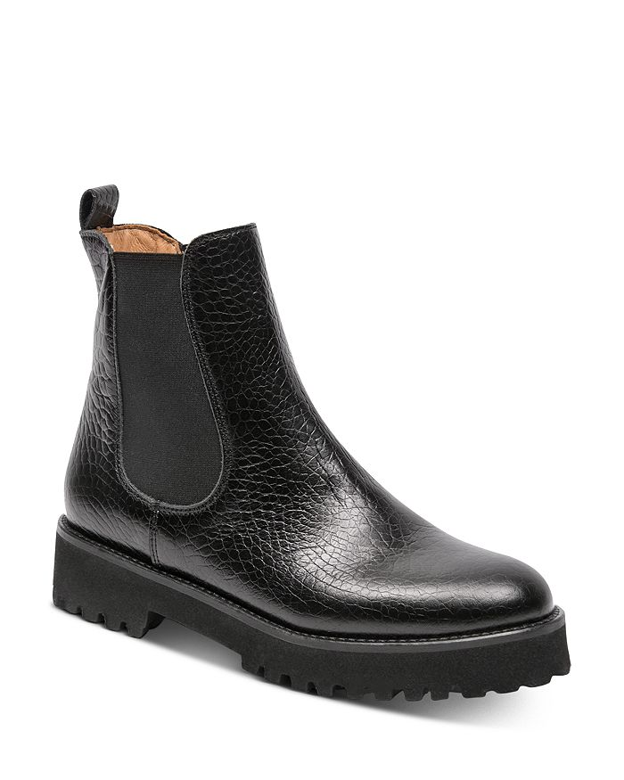 Andre Assous - Women's Peggy Croc-Embossed Ankle Boots