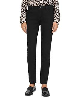 Gerard Darel - Lou Low-Rise Straight-Leg Jeans in Black
