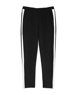 AQUA - Girls' Contrast-Stripe Pants, Big Kid - 100% Exclusive