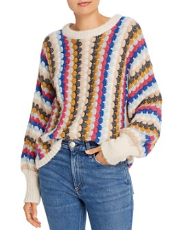 Eleven Six - Kara Scalloped Knit Sweater