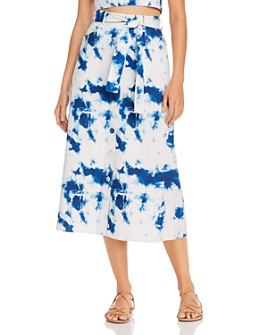 Gary Bigeni - Kemi Tie-Dyed Cotton Twill Skirt