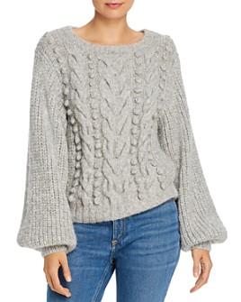 Eleven Six - Charlotte Mixed Knit Alpaca-Blend Sweater