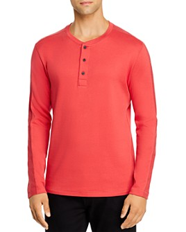 Billy Reid - Pleated Rib Henley