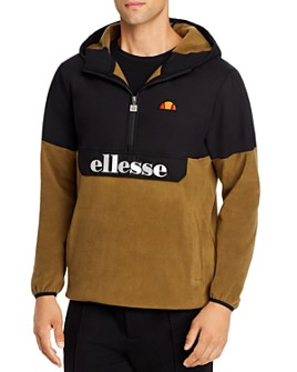 ellesse - Esine Mixed-Media Half-Zip Jacket