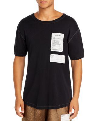 WESC en bois Logo T-Shirt Noir