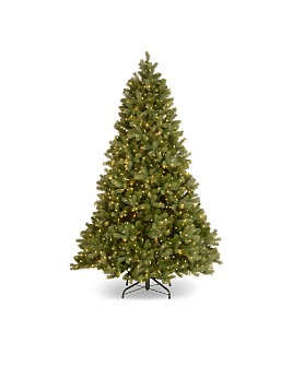 National Tree Company - 7.5 ft. Downswept Douglas® Tree with Clear Lights
