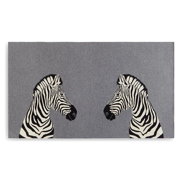 AQUA - Zebra Throw