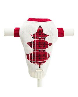 Max Bone - Tartan Knit Tree Jumper