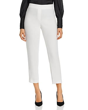 Elie Tahari Pants WILLA CREPE CROPPED PANTS