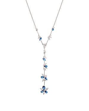 Nadri Loa Stone Cluster Lariat Necklace, 28-Jewelry & Accessories
