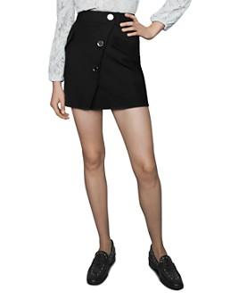 Maje - Jana Snap-Detail Skirt