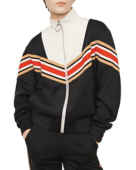 Maje - Thelo Love Striped Jacket