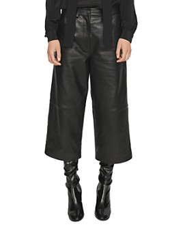 Maje - Pantil Leather Culottes