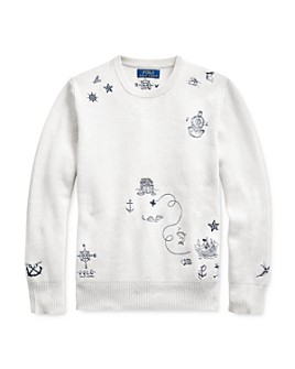 Ralph Lauren - Boys' Embroidered Sweater - Big Kid