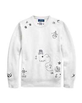 Ralph Lauren - Boys' Embroidered Sweater - Big Kid