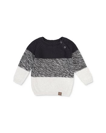 Miles Baby - Boys' Color-Block Sweater - Baby