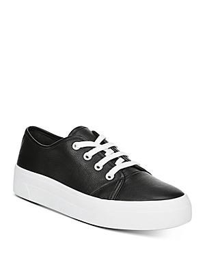 Via Spiga Women's Viola Leather Platform Sneakers