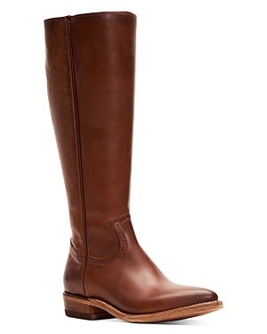 Frye Boots WOMEN'S BILLY LEATHER TALL BOOTS