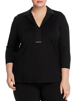 Lafayette 148 New York Plus - Magda Woven Top