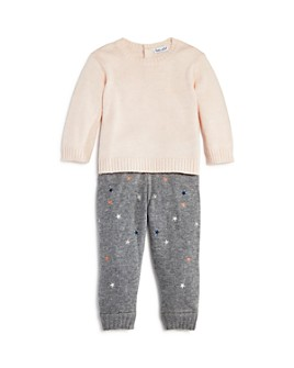 Splendid - Girls' Sweater & Embroidered Pants Set - Baby