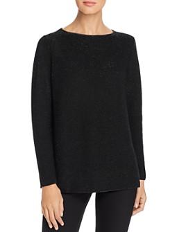 Lafayette 148 New York - Metallic Cashmere Sweater