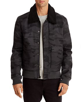 Mills Supply - Lodi Sherpa-Collar Bomber Jacket